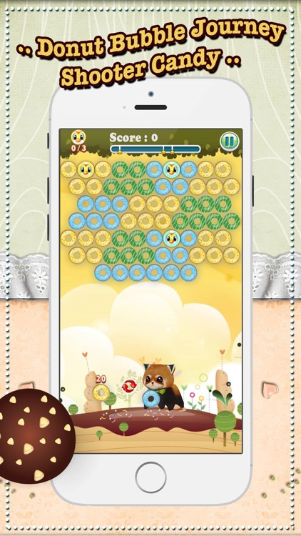 Donut Bubble Journey Shooter Candy - Free Game Best Cool & Funny For Kids - Touch Top Fun