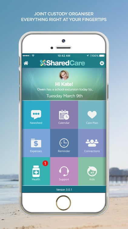 SharedCare - Joint Custody Organizer & Co-Parenting App screenshot-0