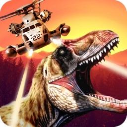 Dino-saur Gun-ship FPS Sim-ulator