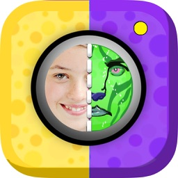 Sticker Face Painting Mask Game – Create Funny and Scary Picture.s for iPhone