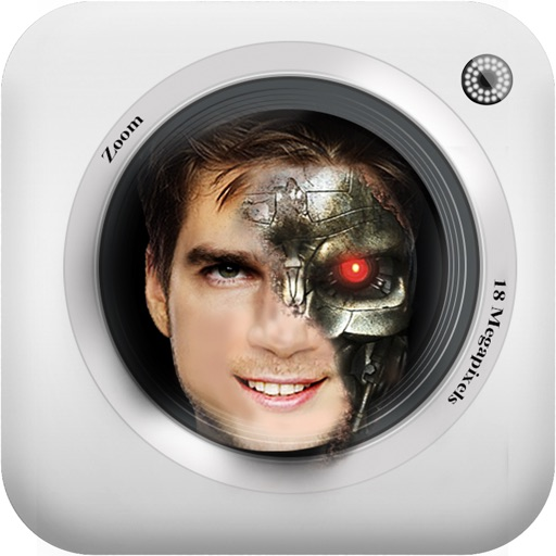 CYBORG PHOTO BOOTH HD : Cybernetic photo morph editor.