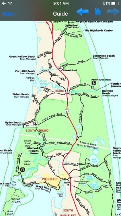 Cape Cod National Seashore - GPS Map Navigator screenshot-3