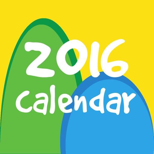 Calendar for Rio