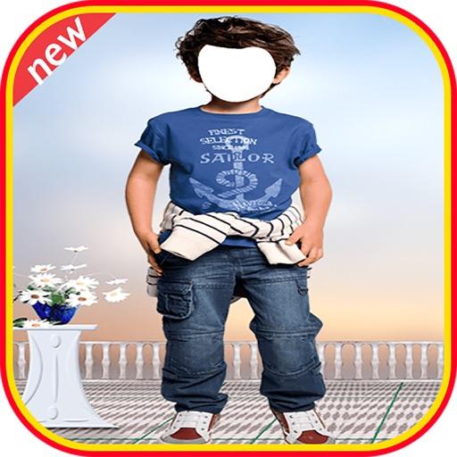 Kids Boy Fashion  Photo Suit New - Baby Costume Photo Montage Pro Photo Suit iOS App