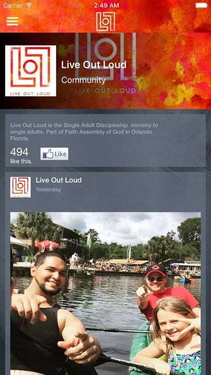 Live Out Loud screenshot-3