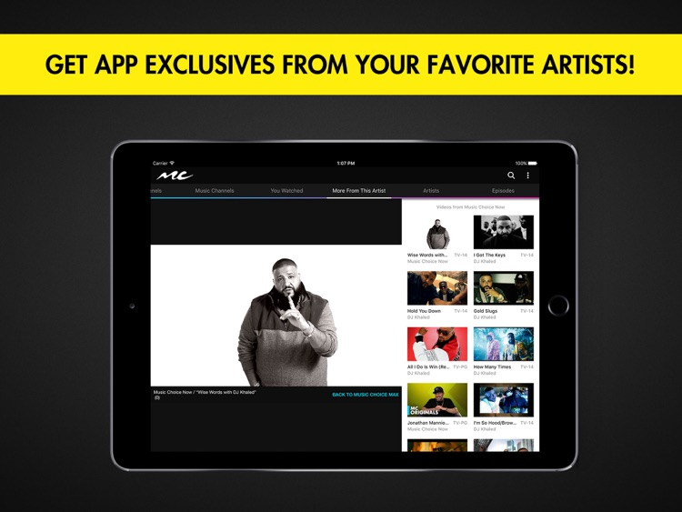 Music Choice for iPad screenshot-3