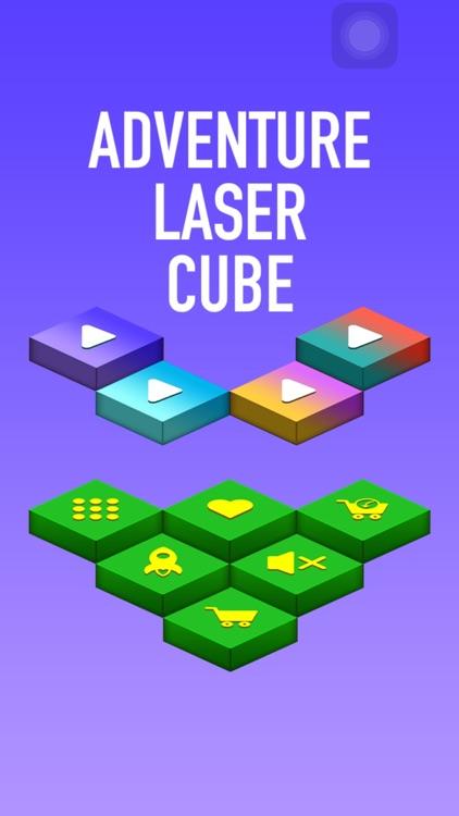 Adventure Laser Jumping Cube