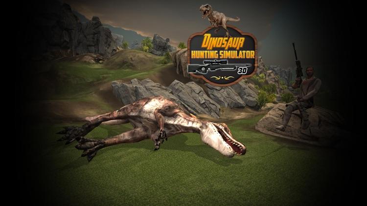 Dinosaur Hunting Simulator 3D screenshot-3