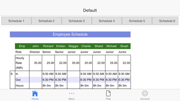 Employee Schedule Pro screenshot-0