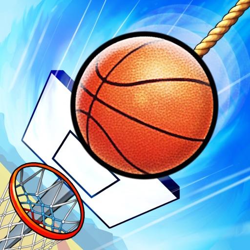 Basket Fall - Basketball Dunking Sim