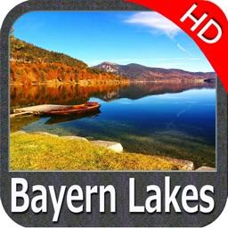 Lakes : Bavaria HD - GPS Map Navigator