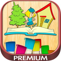 Coloring book - drawings color games - Premium