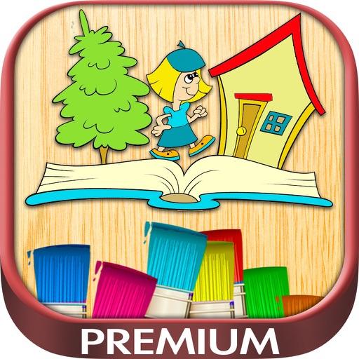 Coloring book - drawings color games - Premium