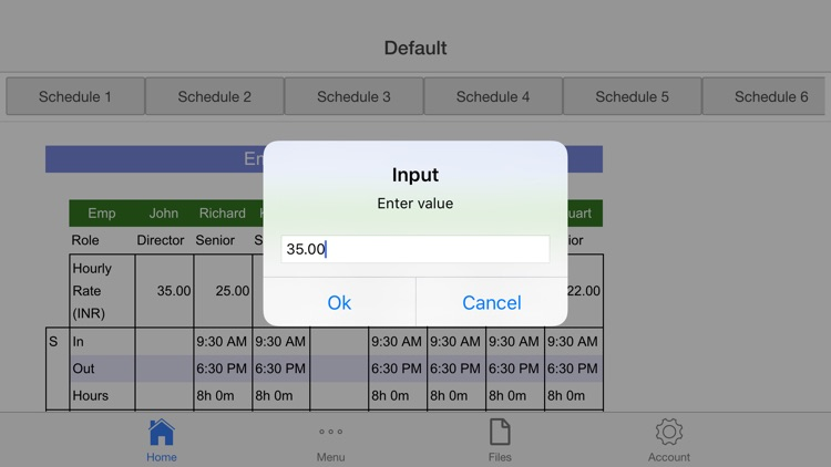 Employee Schedule Pro screenshot-3