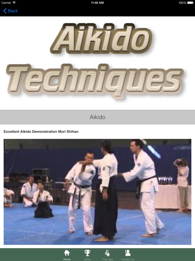 Aikido Techniques & Tips on the App Store