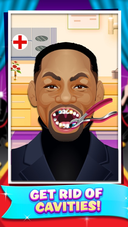 Celebrity Dentist Doctor Salon Kids Game Free