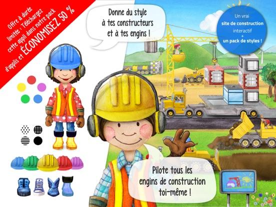 Screenshot #4 pour Tiny Builders - Camions, grues pour enfants