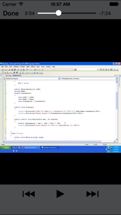 C#Programming screenshot-3