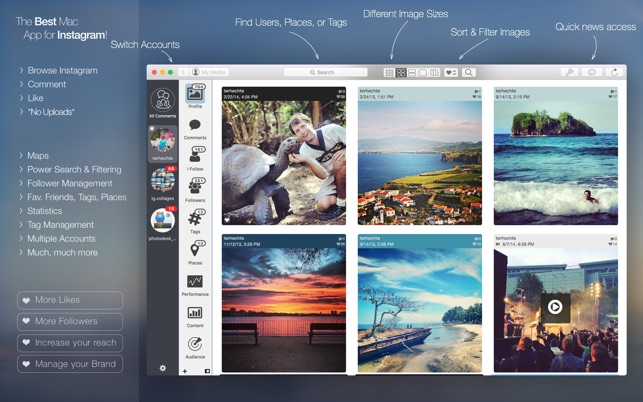 PhotoDesk - for Instagram Screenshot