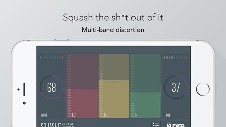 SquashIt multiband distortion