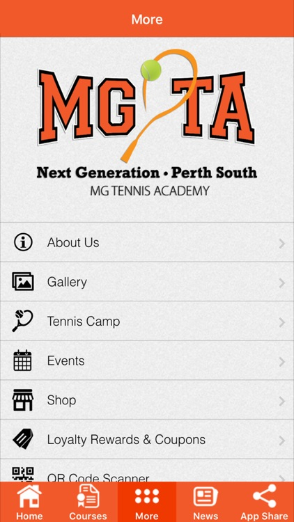 MG Tennis Academy