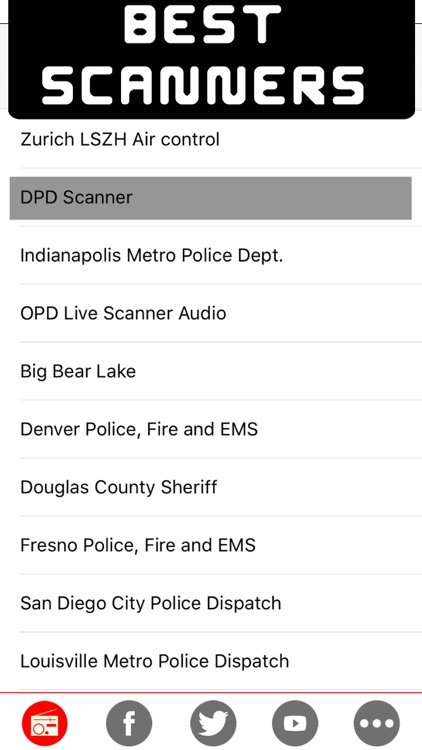 Police radio scanners - The best radio police , Air traffic , fire & weather scanner on line radio stations