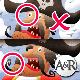 My First Find the Differences Game: Pirates - Free App for Kids and Toddlers - Games and Apps for Kid, Toddler