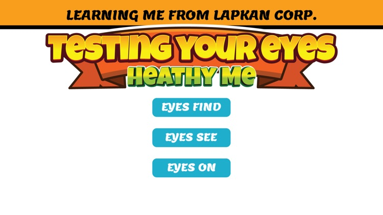 Healthy Me: Testing Your Eyes