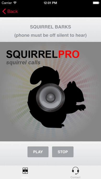 REAL Squirrel Calls and Squirrel Sounds for Squirrel Hunting! - (ad free) BLUETOOTH COMPATIBLE screenshot-3