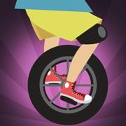 真棒unicyclist跳跃比赛 - 新的快速跳跃的赛车游戏