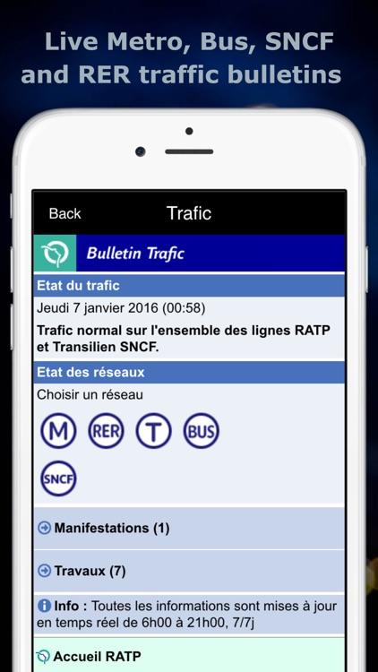 Paris Metro Map screenshot-3