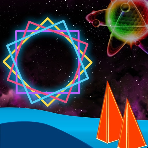 Amazing Cube Sprint - Zig - Zag Neon Color Jump Dash Game icon