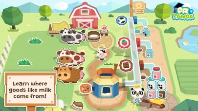 Dr. Panda Farm Screenshot on iOS