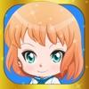 可爱的动漫女孩打扮的创造者 - 为孩子们的游戏赤壁日本化妆人物头像