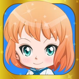 Cute anime girl creator dress-up - Chibi japanese make-up avatar characters kids Games