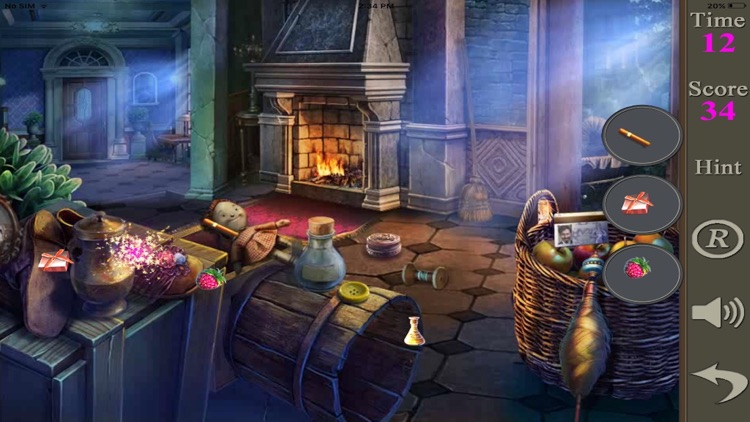 Hidden Objects Of A House Of Thieves