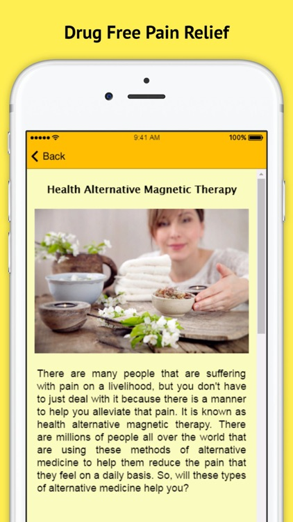 Magnetic Therapy Healing - Drug Free Pain Relief