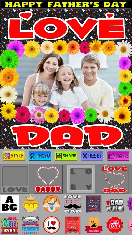 Father's Day Photo Frames (HD)
