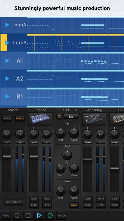 KORG Gadget screenshot-0