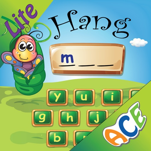 Spelling Bug Hangman Lite- Word Game for kids to learn spelling with phonics