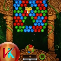Sun Temple Bubble Match Puzzle