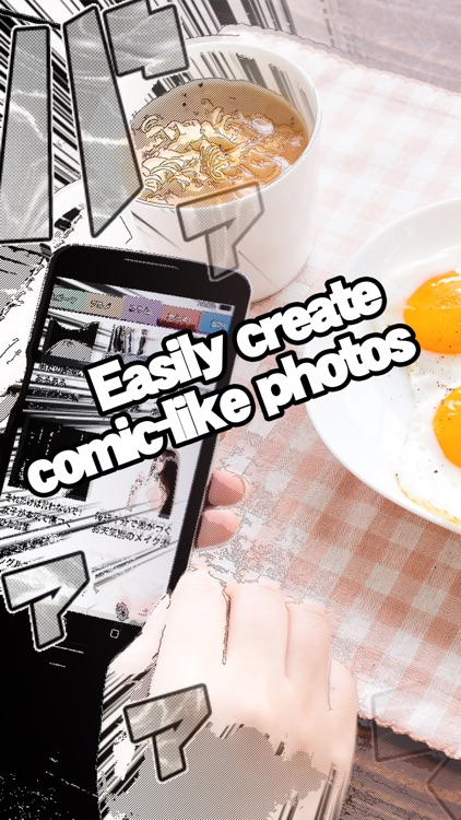 Manga Comic Camera - Create comic-style photos with effects and filters.