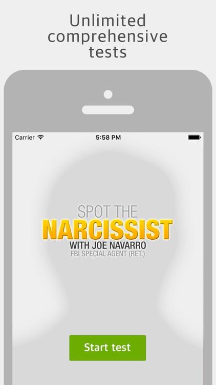 Spot The Narcissist