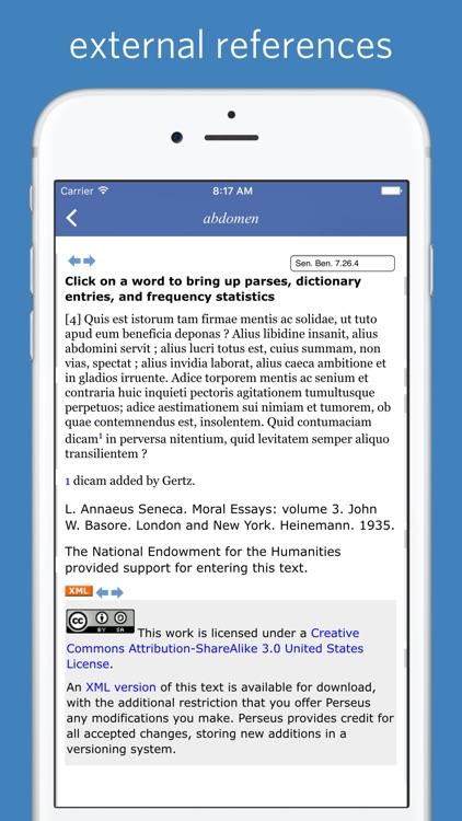 Latin Dictionary - Lewis and Short screenshot-3