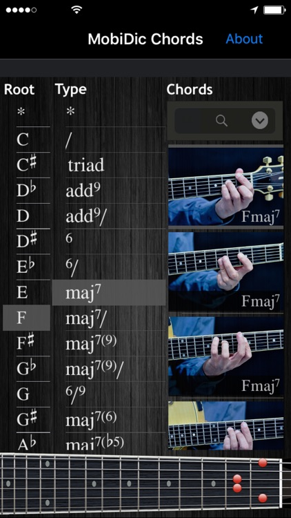 MobiDic - Guitar Picture Chords screenshot-0