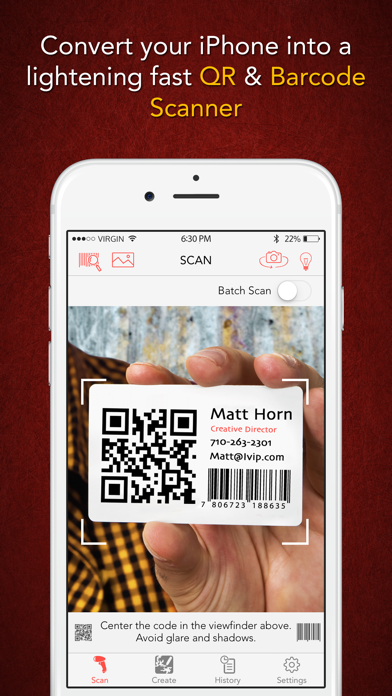 Scanify Pro - Barcode Scanner, Shopping Assistant, and QR Code Reader & Generator Screenshot
