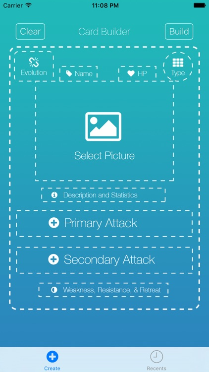 Card Builder for Pokemon screenshot-0