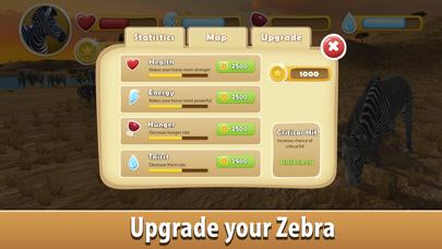 Zebra Simulator 3D Full - African Horse Survival screenshot four