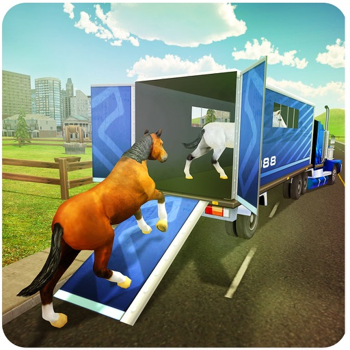 Horse Transport Truck Simulator 3D iOS App