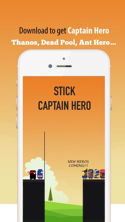 Stick Captain Hero